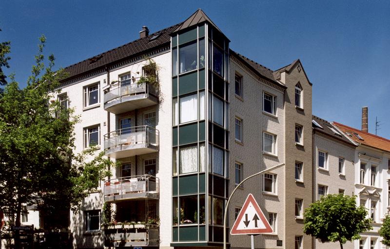 Neubau mehrfamilienwohnhaus hamburg altona teamwork for Architekten hamburg altona